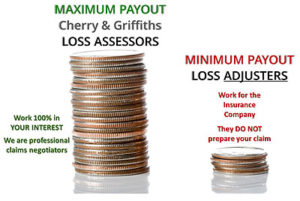 difference between loss assessor and loss adjuster
